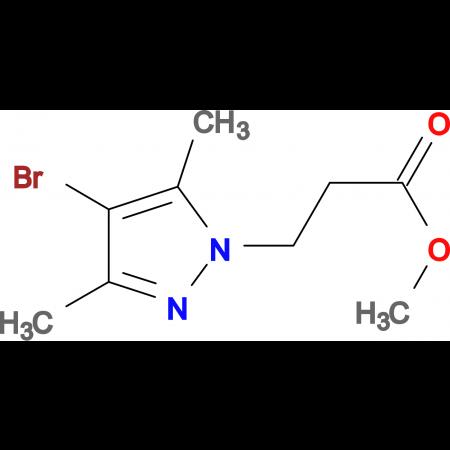 3-(4-Bromo-3,5-dimethyl-pyrazol-1-yl)-propionic acid methyl ester