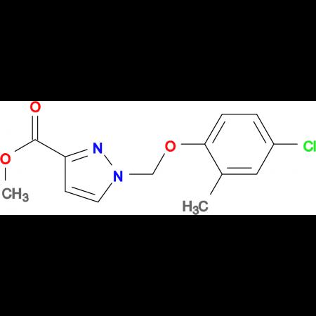 1-(4-Chloro-2-methyl-phenoxymethyl)-1 H -pyrazole-3-carboxylic acid methyl ester