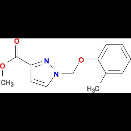 1- o -Tolyloxymethyl-1 H -pyrazole-3-carboxylic acid methyl ester