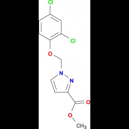 1-(2,4-Dichloro-phenoxymethyl)-1 H -pyrazole-3-carboxylic acid methyl ester