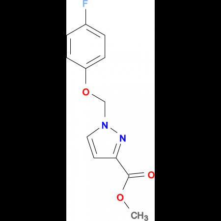 1-(4-Fluoro-phenoxymethyl)-1 H -pyrazole-3-carboxylic acid methyl ester