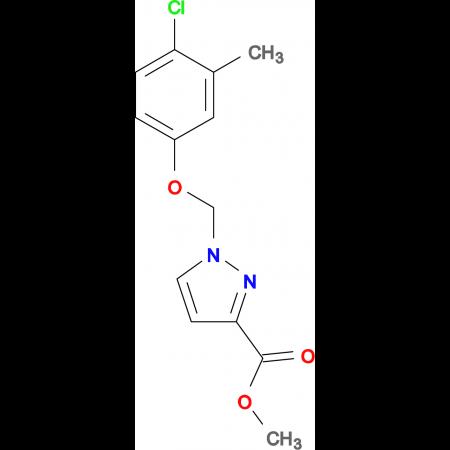 1-(4-Chloro-3-methyl-phenoxymethyl)-1 H -pyrazole-3-carboxylic acid methyl ester