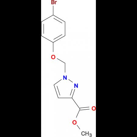 1-(4-Bromo-phenoxymethyl)-1 H -pyrazole-3-carboxylic acid methyl ester