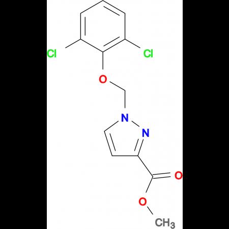 1-(2,6-Dichloro-phenoxymethyl)-1 H -pyrazole-3-carboxylic acid methyl ester