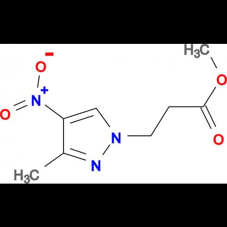 3-(3-Methyl-4-nitro-pyrazol-1-yl)-propionic acid methyl ester