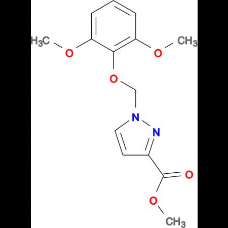1-(2,6-Dimethoxy-phenoxymethyl)-1 H -pyrazole-3-carboxylic acid methyl ester