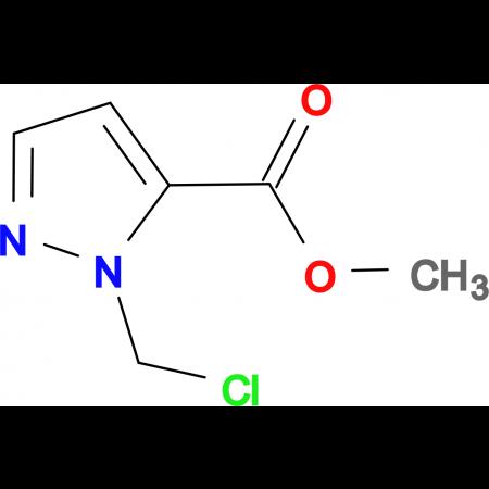 2-Chloromethyl-2 H -pyrazole-3-carboxylic acid methyl ester