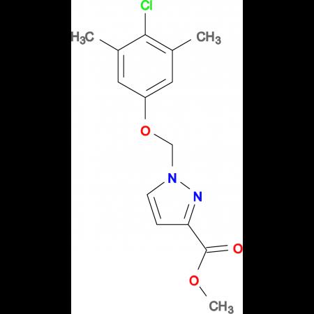 1-(4-Chloro-3,5-dimethyl-phenoxymethyl)-1 H -pyrazole-3-carboxylic acid methyl ester