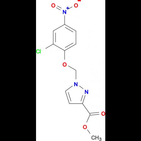 1-(2-Chloro-4-nitro-phenoxymethyl)-1 H -pyrazole-3-carboxylic acid methyl ester