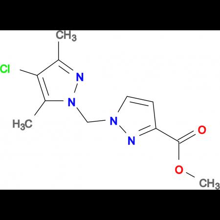 1-(4-Chloro-3,5-dimethyl-pyrazol-1-ylmethyl)-1 H -pyrazole-3-carboxylic acid methyl ester