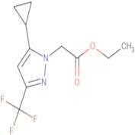 (5-Cyclopropyl-3-trifluoromethyl-pyrazol-1-yl)-acetic acid ethyl ester