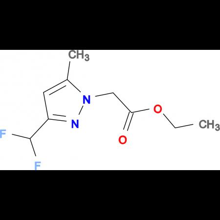 (3-Difluoromethyl-5-methyl-pyrazol-1-yl)-acetic acid ethyl ester