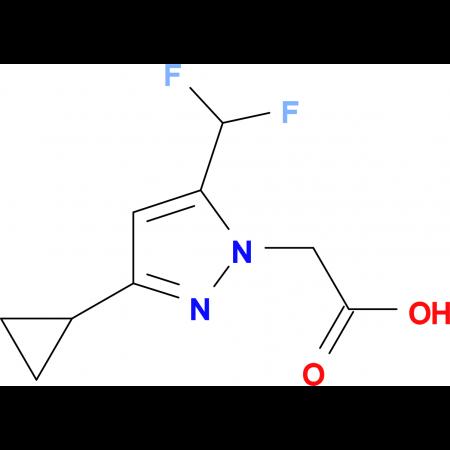 (3-Cyclopropyl-5-difluoromethyl-pyrazol-1-yl)-acetic acid