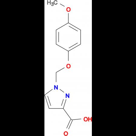 1-(4-Methoxy-phenoxymethyl)-1 H -pyrazole-3-carboxylic acid