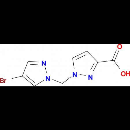 1-(4-Bromo-pyrazol-1-ylmethyl)-1 H -pyrazole-3-carboxylic acid