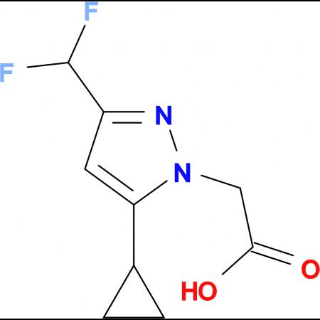 (5-Cyclopropyl-3-difluoromethyl-pyrazol-1-yl)-acetic acid