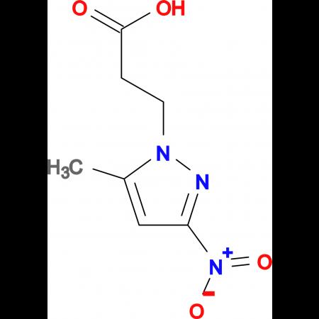 3-(5-Methyl-3-nitro-pyrazol-1-yl)-propionic acid