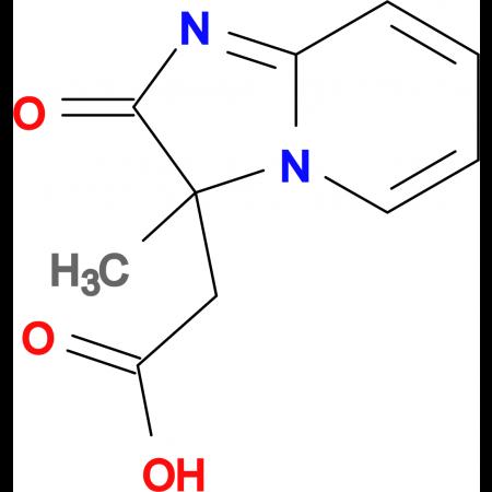 (3-Methyl-2-oxo-2,3-dihydro-imidazo[1,2- a ]pyridin-3-yl)-acetic acid