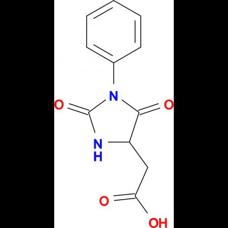 (2,5-Dioxo-1-phenyl-imidazolidin-4-yl)-acetic acid