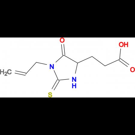 3-(1-Allyl-5-oxo-2-thioxo-imidazolidin-4-yl)-propionic acid