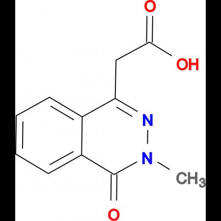 (3-Methyl-4-oxo-3,4-dihydro-phthalazin-1-yl)-acetic acid