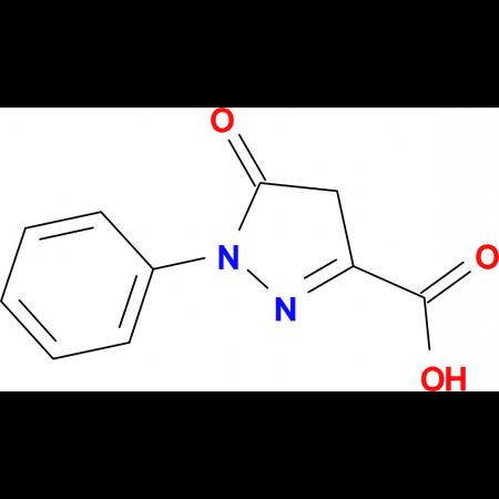 5-Oxo-1-phenyl-4,5-dihydro-1H-pyrazole-3-carboxylic acid