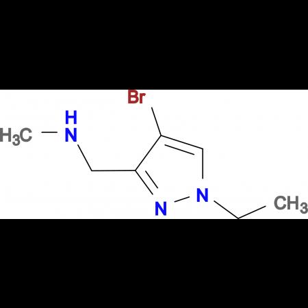 (4-Bromo-1-ethyl-1 H -pyrazol-3-ylmethyl)-methyl-amine