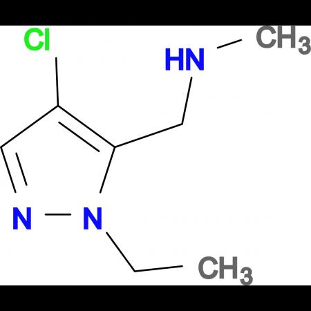 (4-Chloro-2-ethyl-2 H -pyrazol-3-ylmethyl)-methyl-amine