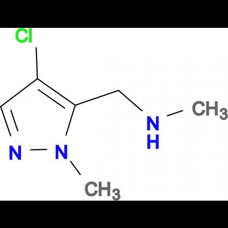 (4-Chloro-2-methyl-2 H -pyrazol-3-ylmethyl)-methyl-amine