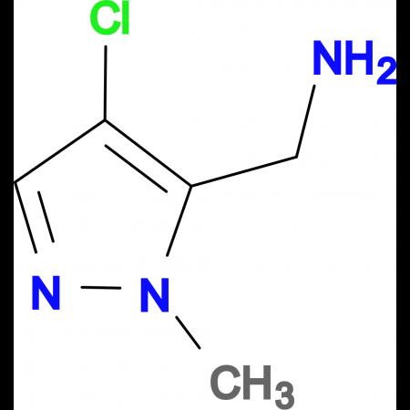 (4-Chloro-1-methyl-1H-pyrazole-5-yl)methylamine