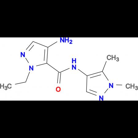 4-Amino-2-ethyl-2 H -pyrazole-3-carboxylic acid (1,5-dimethyl-1 H -pyrazol-4-yl)-amide