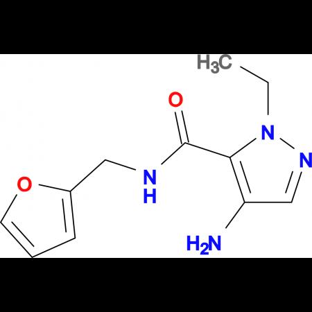 4-Amino-2-ethyl-2 H -pyrazole-3-carboxylic acid (furan-2-ylmethyl)-amide