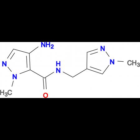 4-Amino-2-methyl-2 H -pyrazole-3-carboxylic acid (1-methyl-1 H -pyrazol-4-ylmethyl)-amide