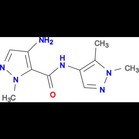 4-Amino-2-methyl-2 H -pyrazole-3-carboxylic acid (1,5-dimethyl-1 H -pyrazol-4-yl)-amide