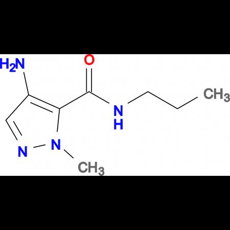 4-Amino-2-methyl-2 H -pyrazole-3-carboxylic acid propylamide