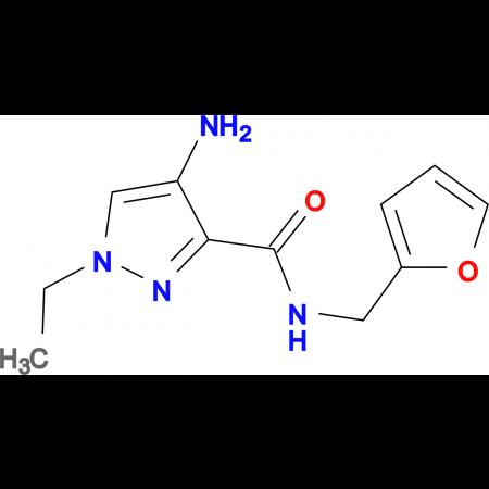 4-Amino-1-ethyl-1 H -pyrazole-3-carboxylic acid (furan-2-ylmethyl)-amide