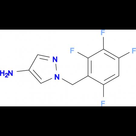 1-(2,3,4,6-Tetrafluoro-benzyl)-1 H -pyrazol-4-ylamine