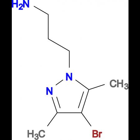 3-(4-Bromo-3,5-dimethyl-pyrazol-1-yl)-propylamine