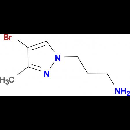 3-(4-Bromo-3-methyl-pyrazol-1-yl)-propylamine