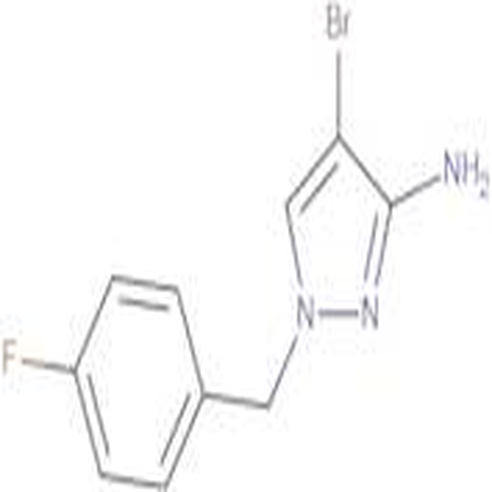 4-Bromo-1-(4-fluoro-benzyl)-1 H -pyrazol-3-ylamine