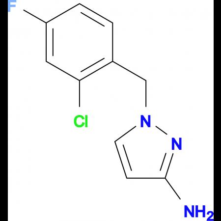 1-(2-Chloro-4-fluoro-benzyl)-1 H -pyrazol-3-ylamine