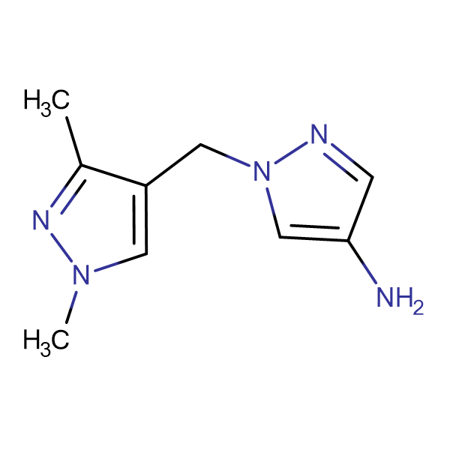 1-(1,3-Dimethyl-1 H -pyrazol-4-ylmethyl)-1 H -pyrazol-4-ylamine