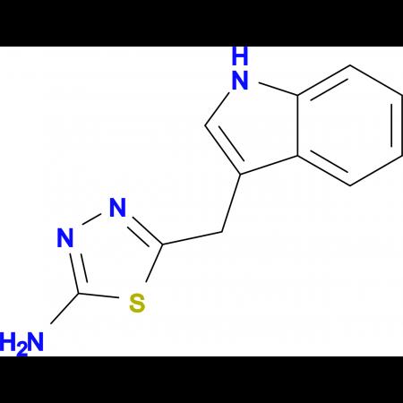 5-(1 H -Indol-3-ylmethyl)-[1,3,4]thiadiazol-2-ylamine