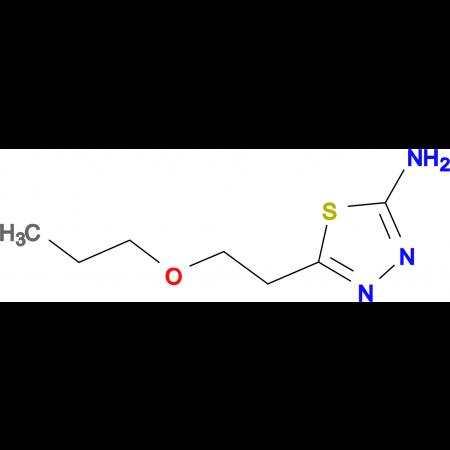 5-(2-Propoxy-ethyl)-[1,3,4]thiadiazol-2-ylamine