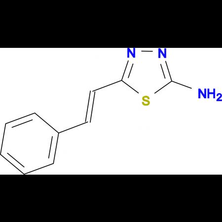 5-Styryl-[1,3,4]thiadiazol-2-ylamine