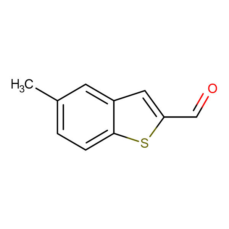 5-Methyl-benzo[ b ]thiophene-2-carbaldehyde