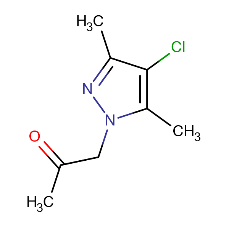 1-(4-Chloro-3,5-dimethylpyrazol-1-yl)-propan-2-one