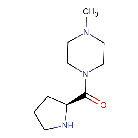 (4-Methyl-piperazin-1-yl)-(S)-pyrrolidin-2-yl-methanone
