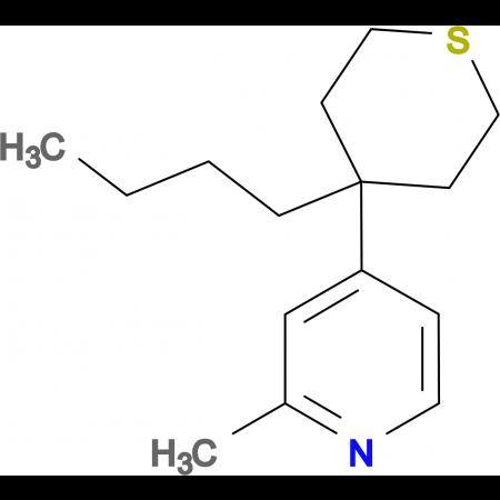 4-(4-Butyl-tetrahydro-thiopyran-4-yl)-2-methyl-pyridine