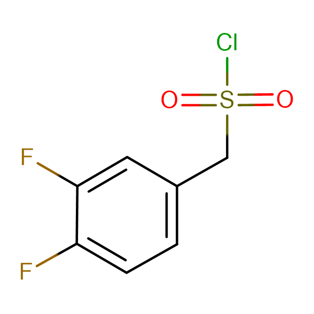 3,4-Difluorobenzylsulfonyl chloride